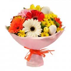 Karışık mevsim buketi Mevsimsel çiçek  Eskişehir çiçek servisi , çiçekçi adresleri