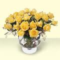 Eskişehir çiçek siparişi vermek  11 adet sari gül cam yada mika vazo içinde