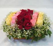 15 adet reprenkli gül sepeti   Eskişehir çiçekçiler