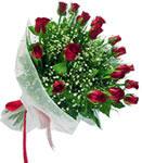 Eskişehir hediye sevgilime hediye çiçek  11 adet kirmizi gül buketi sade ve hos sevenler