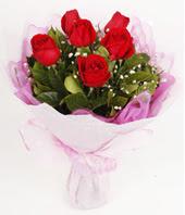 9 adet kaliteli görsel kirmizi gül  Eskişehir internetten çiçek siparişi