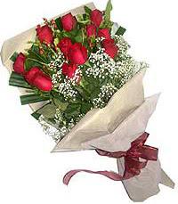 11 adet kirmizi güllerden özel buket  Eskişehir çiçek servisi , çiçekçi adresleri