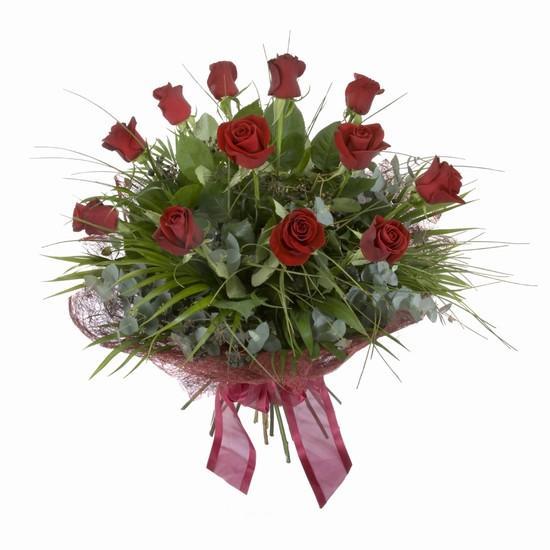 Etkileyici buket 11 adet kirmizi gül buketi  Eskişehir hediye sevgilime hediye çiçek
