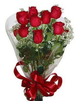 Çiçek sade gül buketi 7 güllü buket  Eskişehir kaliteli taze ve ucuz çiçekler