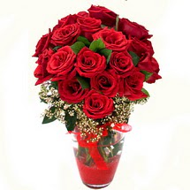 Eskişehir anneler günü çiçek yolla   9 adet kirmizi gül