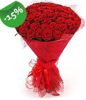 51 adet kırmızı gül buketi özel hissedenlere  Eskişehir anneler günü çiçek yolla