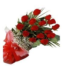 15 kırmızı gül buketi sevgiliye özel  Eskişehir internetten çiçek satışı