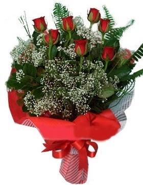 7 kırmızı gül buketi  Eskişehir çiçek gönderme