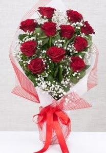 11 kırmızı gülden buket çiçeği  Eskişehir çiçek yolla , çiçek gönder , çiçekçi