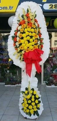 Çift katlı düğün nikah açılış çiçeği  Eskişehir çiçek , çiçekçi , çiçekçilik