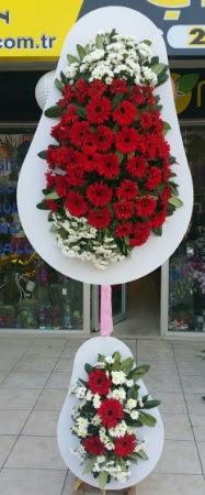 Çift katlı düğün nikah işyeri açılış çiçeği  Eskişehir çiçek siparişi sitesi