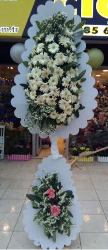 Çift katlı düğün nikah açılış çiçeği  Eskişehir çiçek siparişi vermek