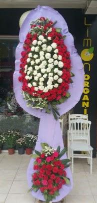 Çift katlı işyeri açılış çiçek modeli  Eskişehir cicekciler , cicek siparisi