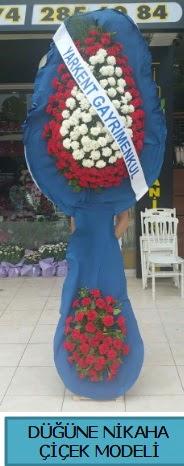 Düğüne nikaha çiçek modeli  Eskişehir online çiçek gönderme sipariş