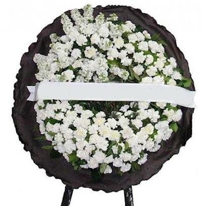 Cenaze çelengi çiçeği modelleri  Eskişehir hediye sevgilime hediye çiçek