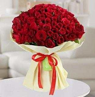 101 adet kırmızı gül buketi koca demet  Eskişehir çiçek servisi , çiçekçi adresleri