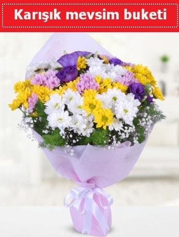 Karışık Kır Çiçeği Buketi  Eskişehir çiçek , çiçekçi , çiçekçilik