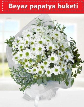Beyaz Papatya Buketi  Eskişehir çiçek yolla , çiçek gönder , çiçekçi