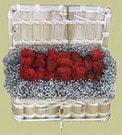 Eskişehir yurtiçi ve yurtdışı çiçek siparişi  Sandikta 11 adet güller - sevdiklerinize en ideal seçim